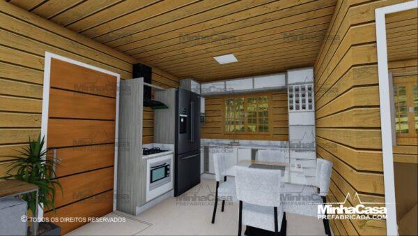 Minha casa pré fabricada modelo Pop 2.0 10