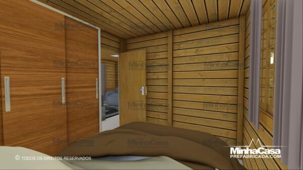 Minha casa pré fabricada modelo Pop 2.0 11
