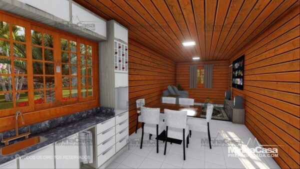 Minha casa pré fabricada modelo Pop 2.1 05
