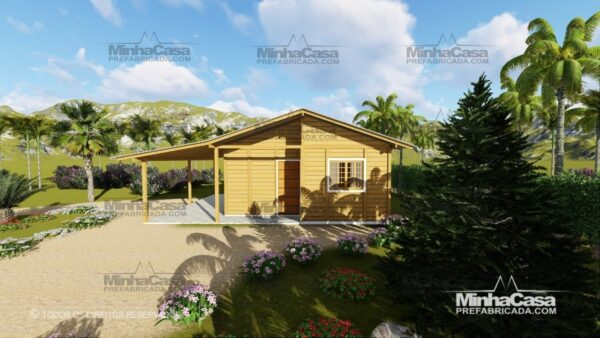 Minha casa pré fabricada modelo Pop 3.0-77,85M² 01