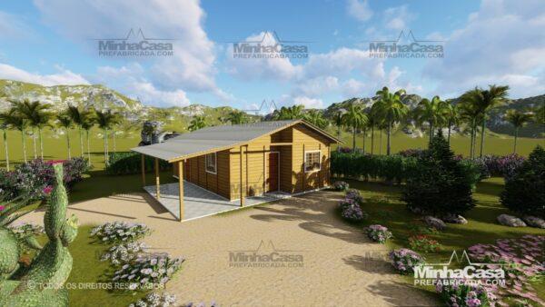 Minha casa pré fabricada modelo Pop 3.0-77,85M² 03
