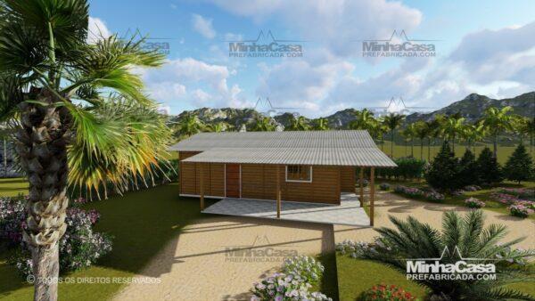Minha casa pré fabricada modelo Pop 3.0-77,85M² 04