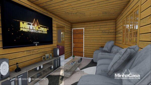 Minha casa pré fabricada modelo Pop 3.0-77,85M² 09