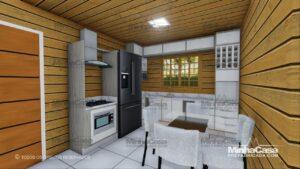 Minha casa pré fabricada modelo Pop 3.0-77,85M² 12