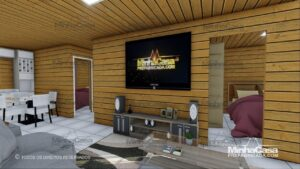Minha casa pré fabricada modelo Pop 3.0-77,85M² 13