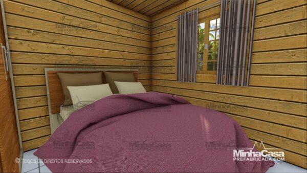 Minha casa pré fabricada modelo Pop 3.0-77,85M² 14