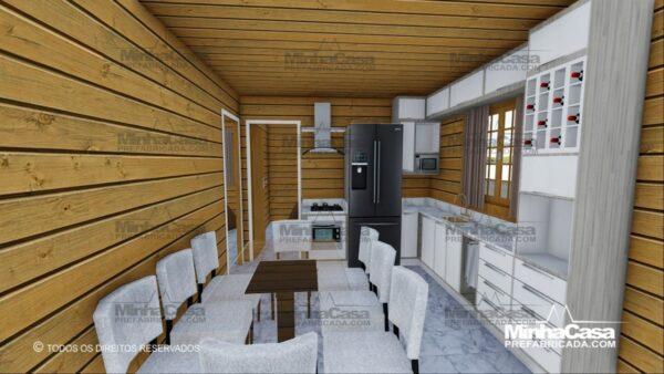 Minha casa pré fabricada modelo Pop 4.0 11