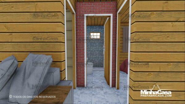 Minha casa pré fabricada modelo Pop 4.0 14