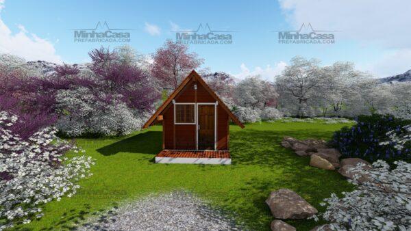 Minha casa pré fabricada modelo Pousada 01