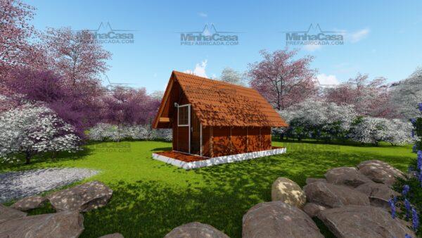 Minha casa pré fabricada modelo Pousada 02