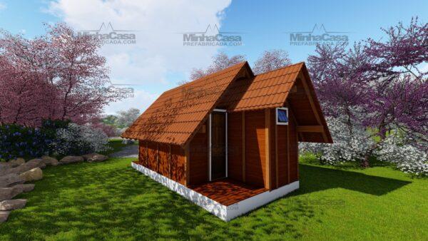 Minha casa pré fabricada modelo Pousada 03