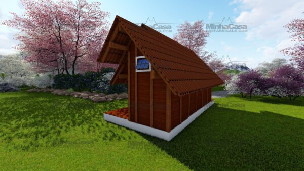 Minha casa pré fabricada modelo Pousada 04