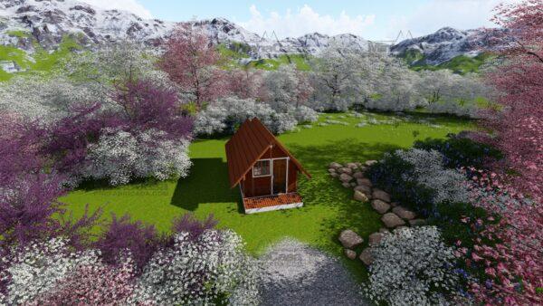 Minha casa pré fabricada modelo Pousada 05