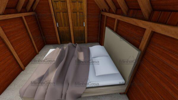 Minha casa pré fabricada modelo Pousada 06