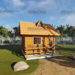 Minha casa pré fabricada modelo Pousada II 01