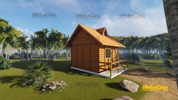 Minha casa pré fabricada modelo Pousada II 02