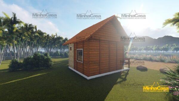 Minha casa pré fabricada modelo Pousada II 03
