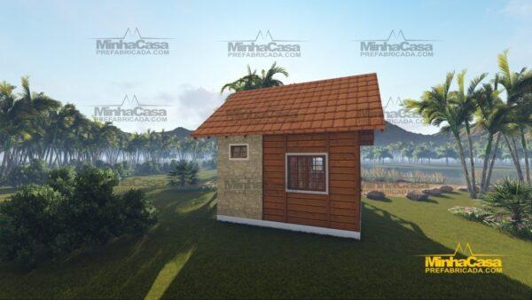 Minha casa pré fabricada modelo Pousada II 04