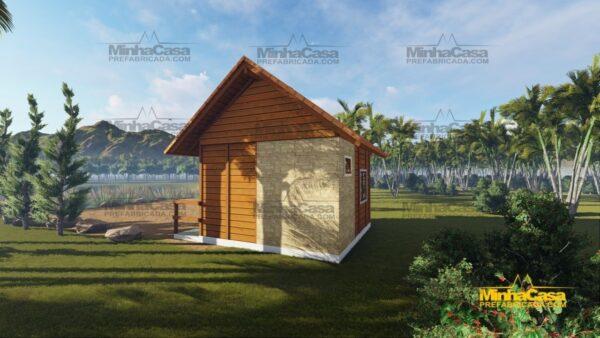 Minha casa pré fabricada modelo Pousada II 06