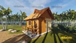 Minha casa pré fabricada modelo Pousada II 07
