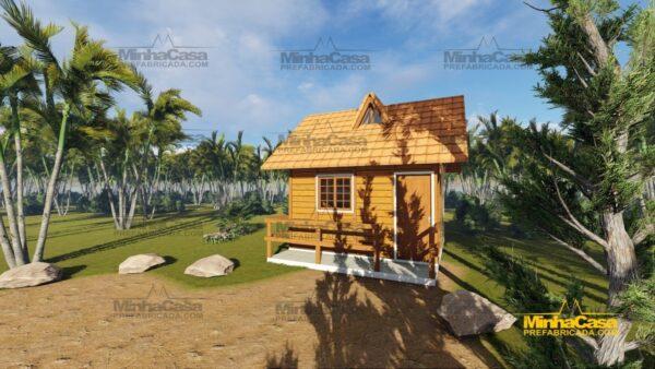 Minha casa pré fabricada modelo Pousada II 09