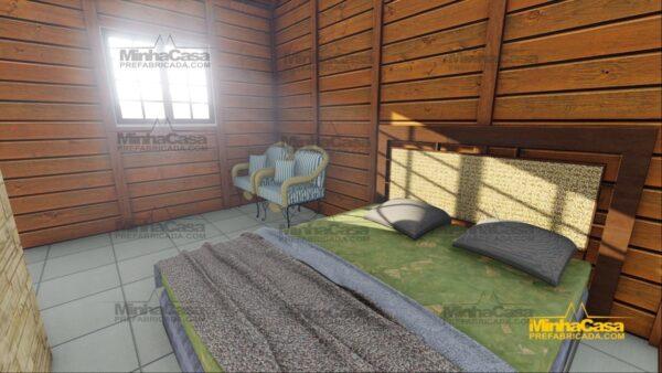 Minha casa pré fabricada modelo Pousada II 10
