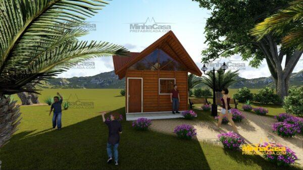 Minha casa pré fabricada modelo Pousada III 01