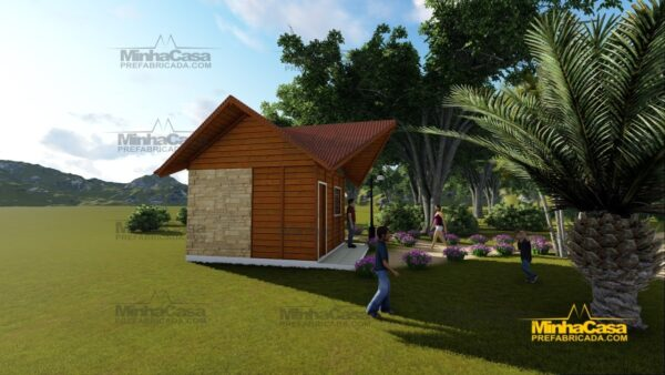 Minha casa pré fabricada modelo Pousada III 02