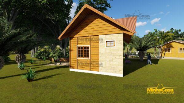 Minha casa pré fabricada modelo Pousada III 04