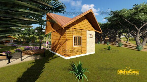 Minha casa pré fabricada modelo Pousada III 05
