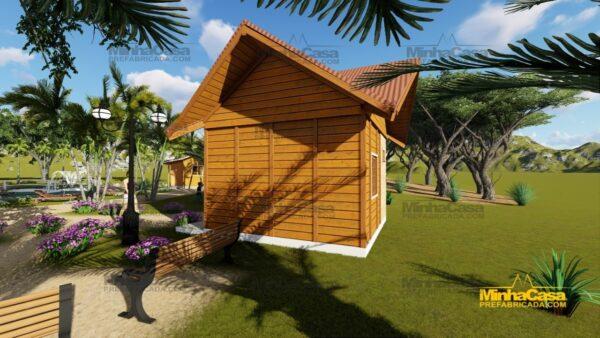 Minha casa pré fabricada modelo Pousada III 06