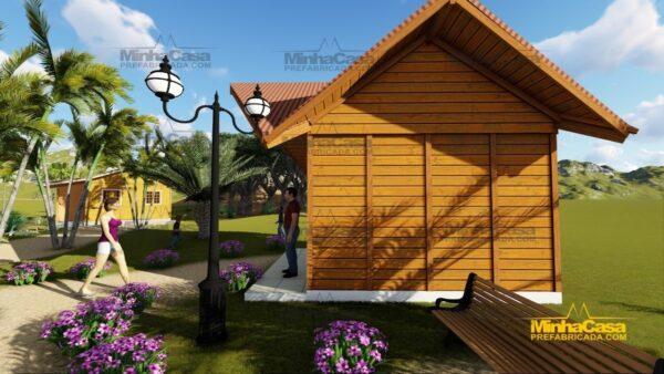 Minha casa pré fabricada modelo Pousada III 07