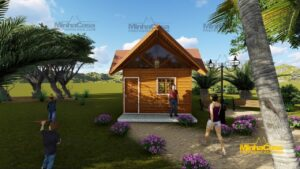 Minha casa pré fabricada modelo Pousada III 08