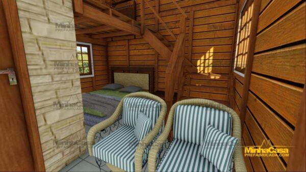 Minha casa pré fabricada modelo Pousada III 10