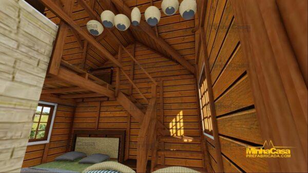 Minha casa pré fabricada modelo Pousada III 11