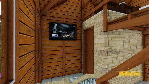 Minha casa pré fabricada modelo Pousada III 12