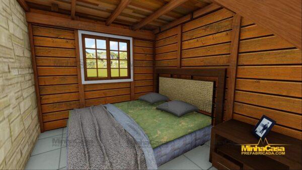 Minha casa pré fabricada modelo Pousada III 13