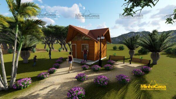 Minha casa pré fabricada modelo Pousada III 15