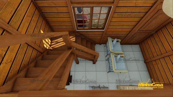 Minha casa pré fabricada modelo Pousada III 18