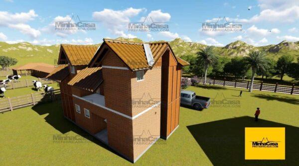 Minha casa pré fabricada modelo Rio De Janeiro 02