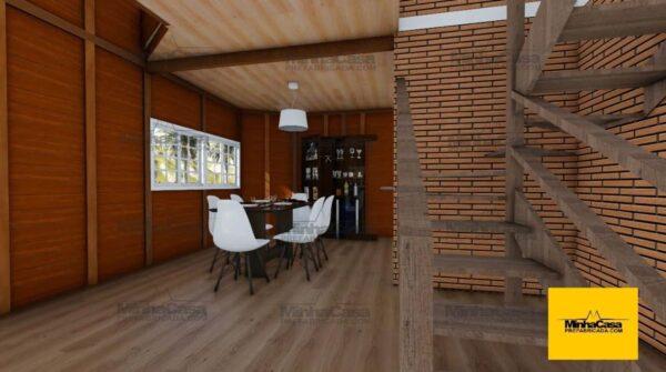 Minha casa pré fabricada modelo Rio De Janeiro 06