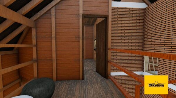 Minha casa pré fabricada modelo Rio De Janeiro 09