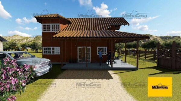 casa pré fabricada modelo Rio De Janeiro 1