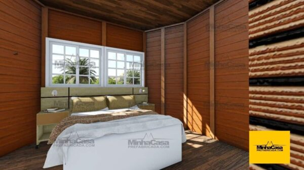Minha casa pré fabricada modelo Rio De Janeiro 10