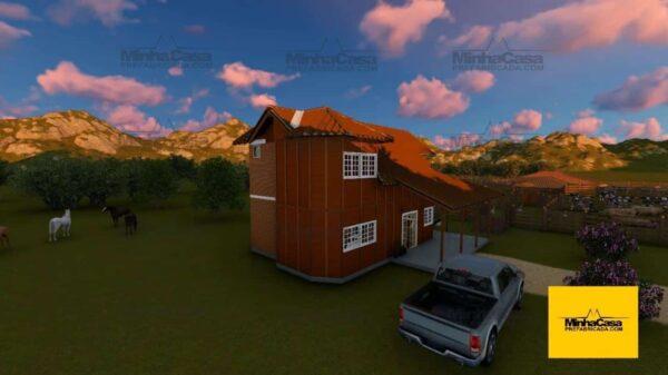 Minha casa pré fabricada modelo Rio De Janeiro 11