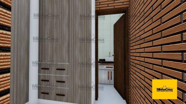 Minha casa pré fabricada modelo Rio De Janeiro 12