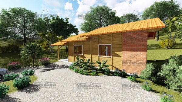 Minha casa pré fabricada modelo São José 04