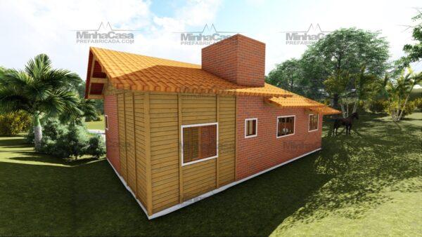 Minha casa pré fabricada modelo São José 06