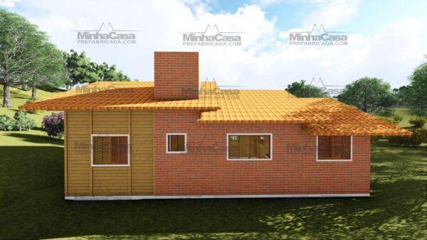 Minha casa pré fabricada modelo São José 07
