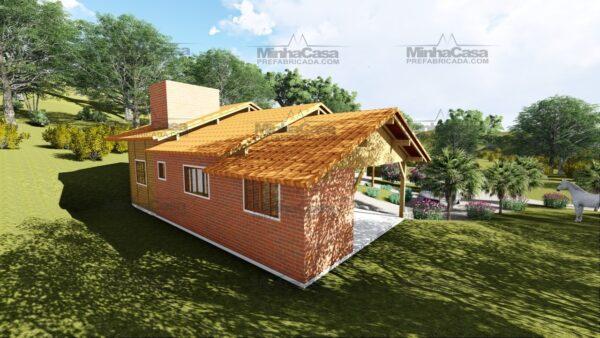 Minha casa pré fabricada modelo São José 08